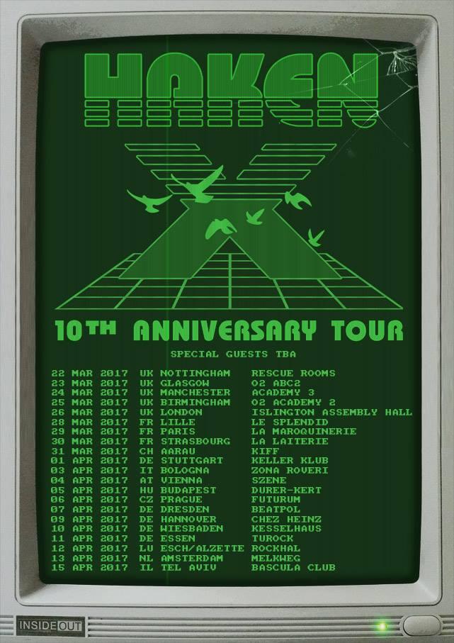 Haken Announces 10th Anniversary Tour Reissues Of Aquarius