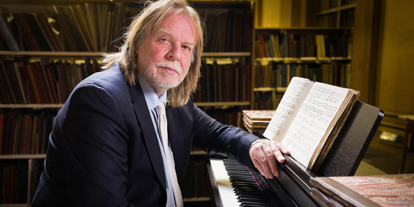 From The Interesting Film Company   PERSPECTIVES: RICK WAKEMAN  ON VIVALDI'S FOUR SEASONS Sunday 3rd May 2015 on ITV   Pictured: Rick Wakeman   Antonio Vivaldi's the Four Seasons is the most popular piece of classical music of all time.  There have been over 1000 different recordings , selling tens of millions of copies.   It's become so ubiquitous – in lifts, as phone ring tones or on call-centre answering machines – that it has been denounced as Muzak for the middle classes.  Rick Wakeman – platinum-selling prog rock keyboardist and television Grumpy Old Man – thinks the critics are wrong.   He believes that the Four Seasons was so far ahead of its time that it was actually the first ever concept album – and that Vivaldi was the world's first rock superstar. But how could a sickly 18th century priest create the prototype for Rick's very modern genre?  And why did Vivaldi and the Four Seasons disappear into obscurity for more than 200 years after his death?  Rick turns detective to solve the mystery: his journey takes him to Venice – in the 18th century the most debauched city on the planet – where he encounters some of those who have devoted their lives to studying and worshipping Vivaldi … and uncovers the whiff of a very modern rock star sex scandal. Which may have contributed to Vivaldi's downfall.     But the investigation also leads Rick to unexpected places and people.   He meets fellow prog rocker Mike Rutherford from Genesis and debates whose band Vivaldi would join; and he encounters the Croatian arranger and keyboard player whose multi-national assembly of musicians is turning the Four Seasons into heavy metal.    Along the way Rick also discovers the only existing original score for the Four Seasons … in just about the last place anyone would have thought to find it…  © The Interesting Film Company   For further information please contact Peter Gray  0207 157 3046 peter.gray@itv.com   This photograph is © ITV and can on
